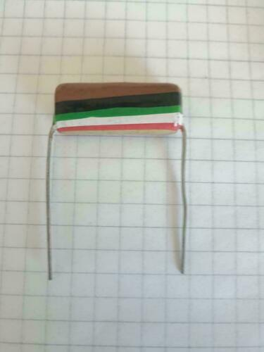1uf 250v flag capacitor 30mm pitch NOS