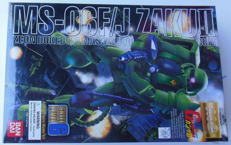 Bandai Gundam MS-06F J Zaku Ii Zeon Dukedom masa Prod Mobile Suit 1 100 Modelo