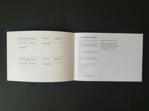 Genuine Nissan Leaf libri di storia del servizio//record di manutenzione