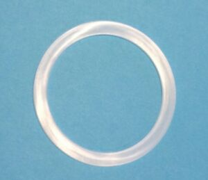 6 Reusable Silicone Seals for  WIDE MOUTH Mason Jars