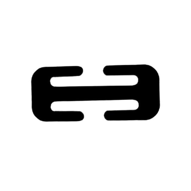 1* Locking Clip Automotive Hot Metal Car Safety Seat Belt Adjuster Black Steel