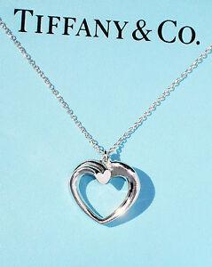 4e32567ce Tiffany & Co Sterling Silver Paloma Picasso Medium Tenderness Heart ...