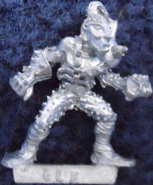 1985 Dark Elf Bloodbowl 1st Edition Attacker Limited Edition Citadel LE18 Team