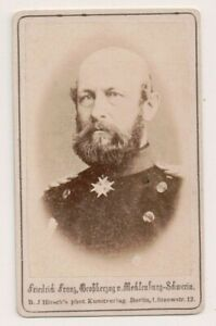 Vintage-CDV-Frederick-Francis-II-Grand-Duke-of-Mecklenburg-Schwerin