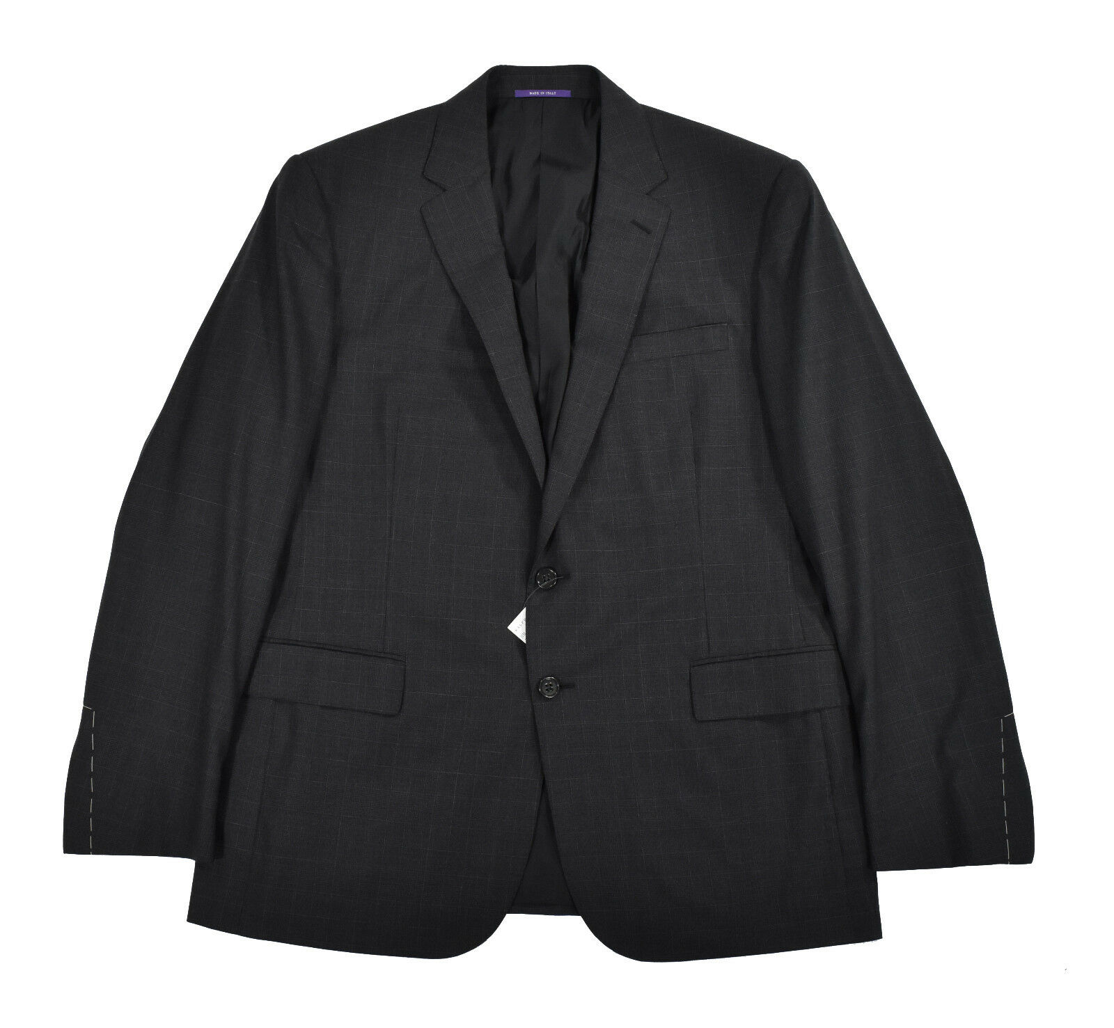 Ralph Lauren lila Label Anthony Glen Plaid Wool Suit 44 R New 2795