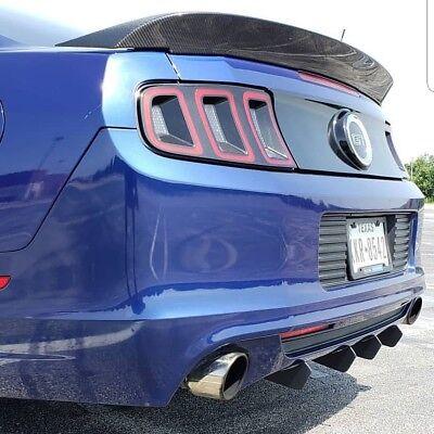 2013 2014 Mustang Rear Diffuser Fins Ebay