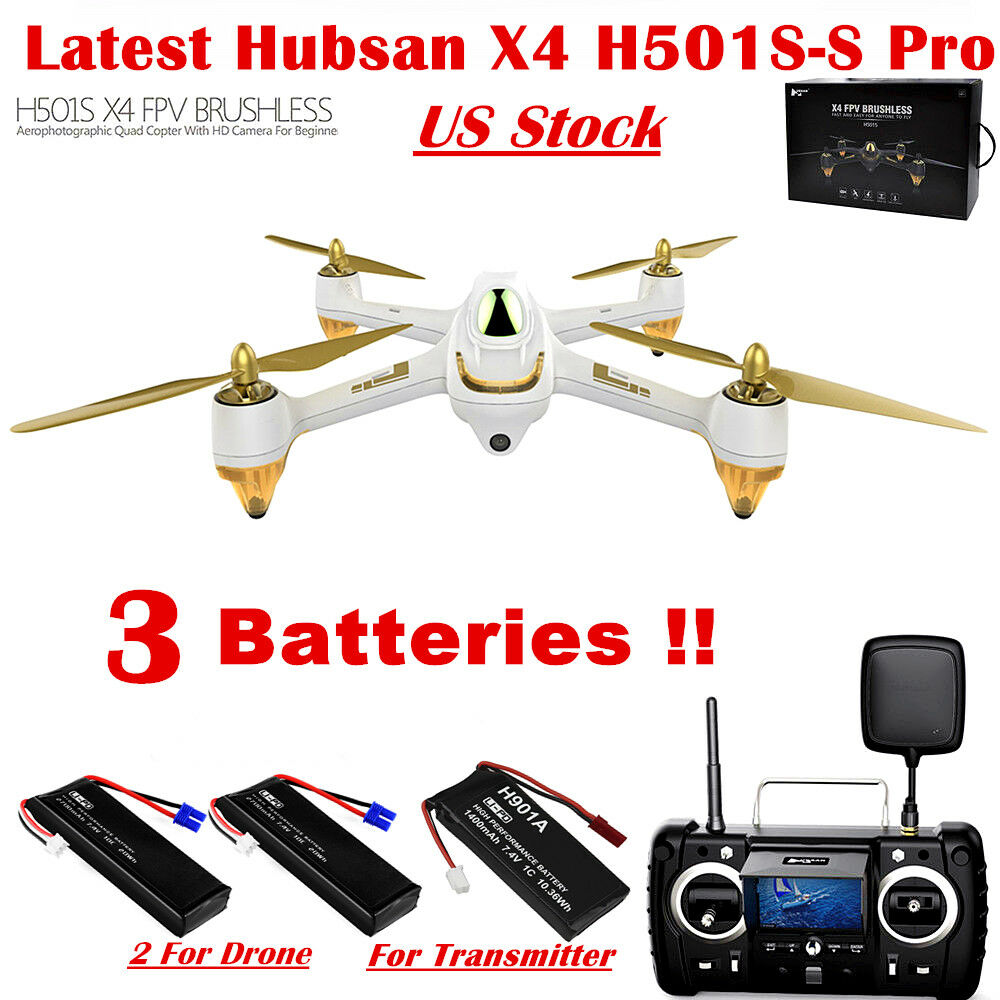 Hubsan X4 H501S 5.8G FPV RC Quadcopter Brushless Follow Me 1080P Auto-Return GPS