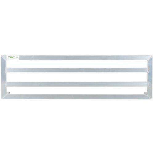 """48/"""" x 14/"""" x 8/"""" Restaurant NSF Aluminum Dunnage Rack Commercial Floor Food Shelf"""