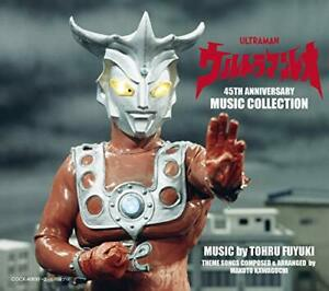 CD-Ultraman-Leo-45th-ANNIVERSARY-MUSIC-COLLECTION-NEW-from-Japan
