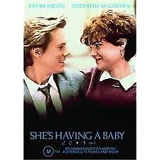 1 of 1 - She's Having A Baby (DVD, 2002)Kevin Bacon*R4*VGC*