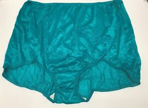 b2627290f 2) VENTURA Nylon Brief Panties with Decorative Applique Size 16   9X ...