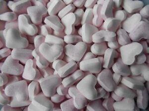 Neueste Kollektion Von ✰ 100 G Rosa Brause Herzen ✰ Mit 20% Traubenzucker ✰ Hochzeit ✰ Heller Glanz 100 G / 3,33 €