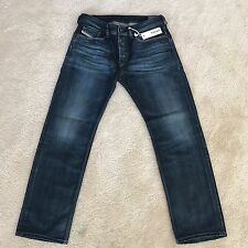 DIESEL Men's Jeans Denim 0806U WAYKEE SIZE: 29/30 Blue Straight NWT