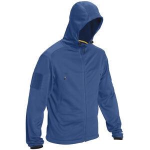 5-11-Tactical-Reactor-Hoodie-Warm-Mens-Military-Ccw-Fleece-Full-Zip-Cobalt-Blue