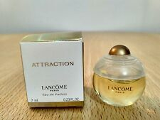 Attraction by Lancome 7 ml EDP for Women  Miniature Mini Perfume Fragrance NEW