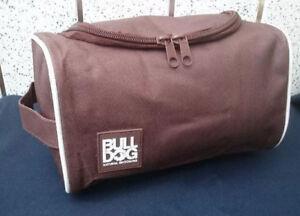 26dd2d17fc2d Details about Bull Dog Toiletry Bag Travel Overnight Wash Gym Shaving Bag  For Men or Ladies