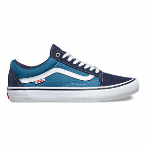 573d1e3205fc7c Image is loading Vans-Old-Skool-Pro-Navy-White-VN000ZD40NS-FREE-