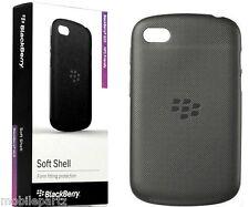 Genuine BlackBerry Black Soft Shell Case Cover for Q10 - ACC-50724-201