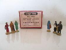 GB DINKY 1003 PASSENDERS FIGURES X6 VNMIB UNCOMMON PEU COURANT L@@K