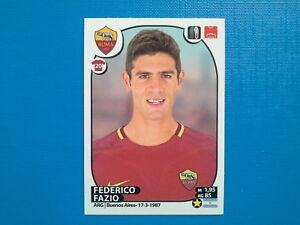 Panini Fifa 365 2018 Federico Fazio AS Roma Nº 368