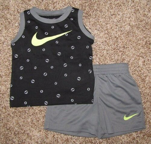 Nike Set Boy/'s Shirt Shorts Size 12 Months