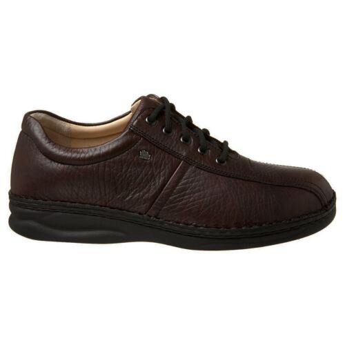 Finn Comfort Dijon Dark Brown Mens Shoes
