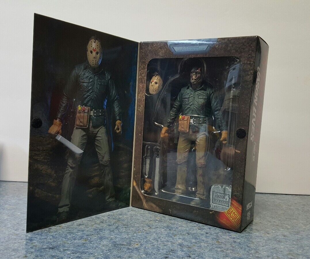 Neca freitag der 13. teil 6 ultimative jason action - figur 7 - zoll - skala vi mib