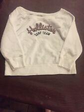 Hollister Juniors Girls  Logo Sweatshirt Size XS