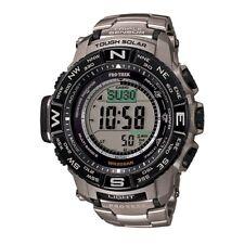 8255ffab765 Casio 3414 Pro Trek Mens Watch Prw-3500 Solar Triple Sensor Digital ...