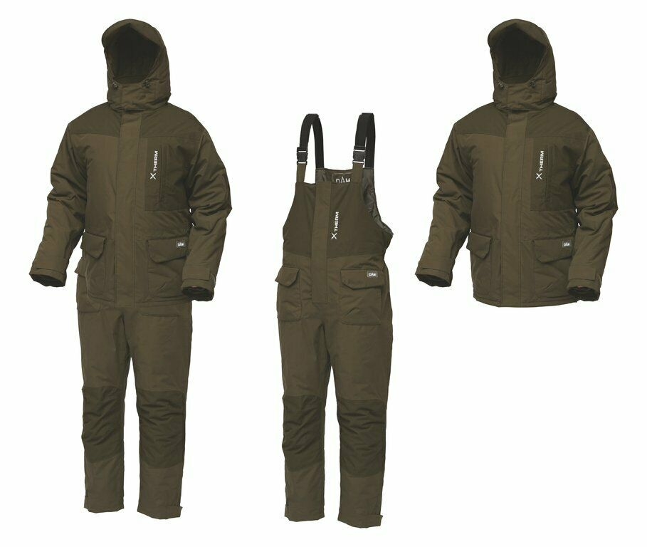 Dam XTherm Winter Suit Winter Suit Thermal Suit  SIZE M-3XL 100% Waterproof  first-class service