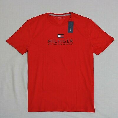 Tommy Hilfiger Men Crew Neck short sleeves T-shirt size Medium new with tag