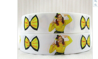 Emma The Wiggles Ribbon 7//8 inch and 22mm wide 1m long Chevron