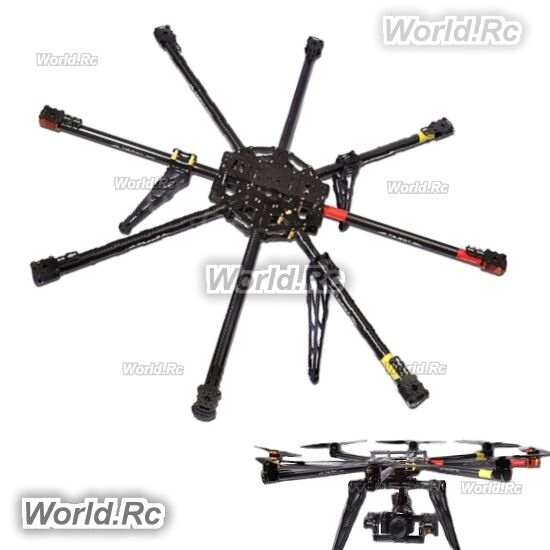 Tared IRON MAN FPV 1000mm 8 aix 3K Carbon octocopter multicopter Frame TL100B01