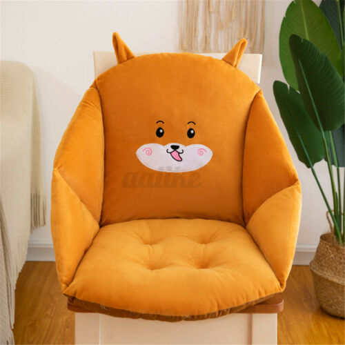 45*45*60CM Cartoon Chair Cushion Backseat Support Soft Seat Car Home Office Gift