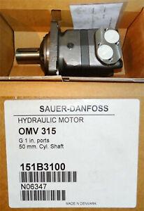 Sauer-Danfoss Hydraulic Motor OMV 315 151B3100 -unused/OVP-