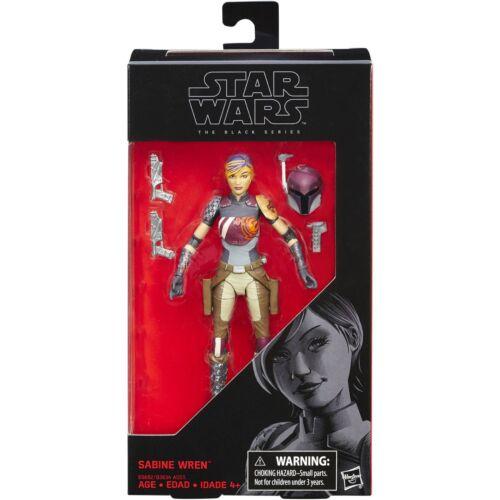 Star Wars The Black Series Sabine Wren #33 In Stock!
