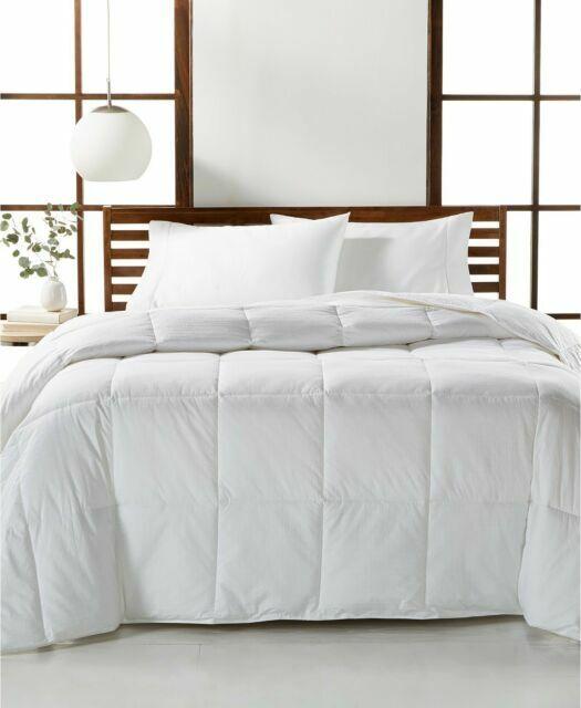 Hotel Collection Luxury Supima Cotton Down Alternative Medium King Pillow White