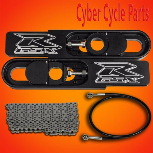 """2009-2015 GSXR 1000 4 1//2 to 9/"""" Bolt on Swing Arm Extension Kit"""