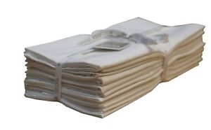 Flour Sack Towels, Set of 12 ( 28 x 28 Inches ) , Multi
