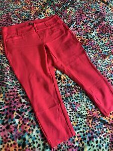 Hot Pink Size 14 Torrid Skinny Trousers