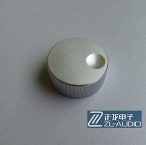 Black Machined Solid Aluminum Knob FR Radio Speaker DAC AMP Volume 32*13mm Lot*2