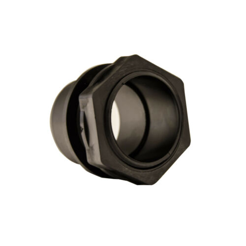 1.5in 2in THREADED TANK CONNECTOR FITTINGS FISH POND SOLVENT WELD PIPE CONNECTOR