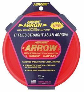 Aerobie Wurfscheibe Arrow Putter Golf Disc 168g Sport Flug Werfen