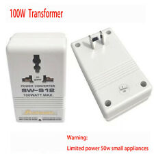 SINGWAY 100W 110V//120V to 220V//240V Step-Up/&Down Voltage Converter Transfor M6S9