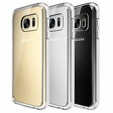 Quirkio Transparent Silicone Rubber Protective Case Cover for Samsung Galaxy S7