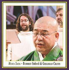 Musica Sacra: Buddhist Shomyo & Gregorian Chants (CD, Jan-2013, K&K...
