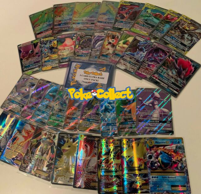 GUARANTEED ULTRA RARE EX GX FULL ART EPIC POKEMON CARD BUNDLE 900 CARDS