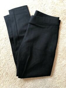 b13ec272b465e Gap Ladies Ponte Ankle Zip Legging Pants Size Medium Black | eBay