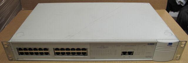 3COM 3C16950 SuperStack 2 1100 24-port Ethernet Network Switch