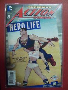 SUPERMAN #43 BOMBSHELLS VARIANT COVER DC COMIC BOOK